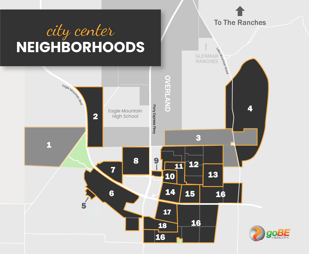 City Center at Eagle Mountain Neighborhood Map