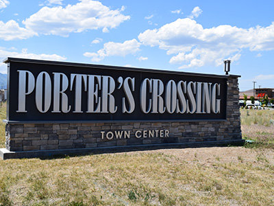 Porter's Crossing Town Center Shopping - Eagle Mountain