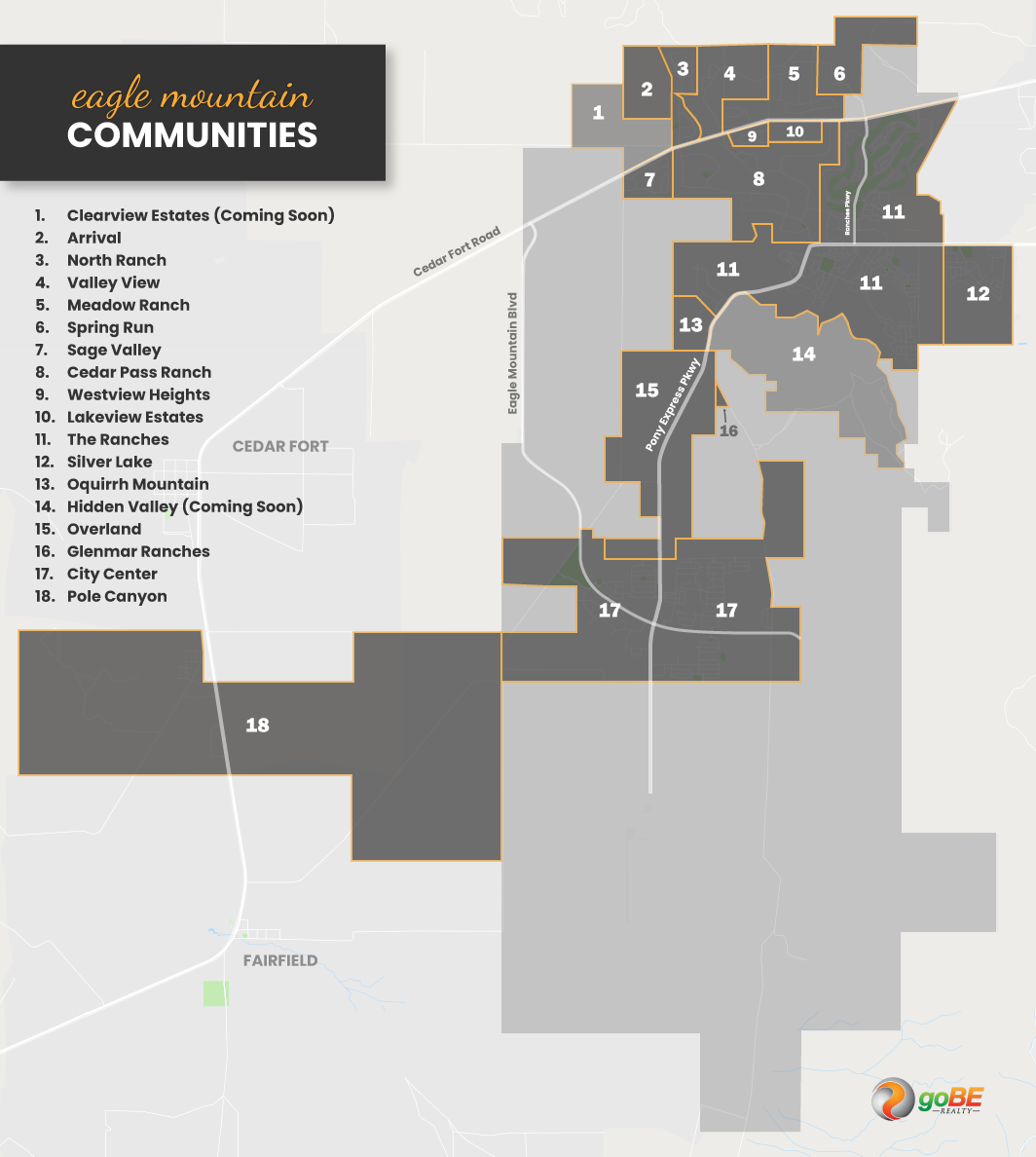 Eagle Mountain Community Map
