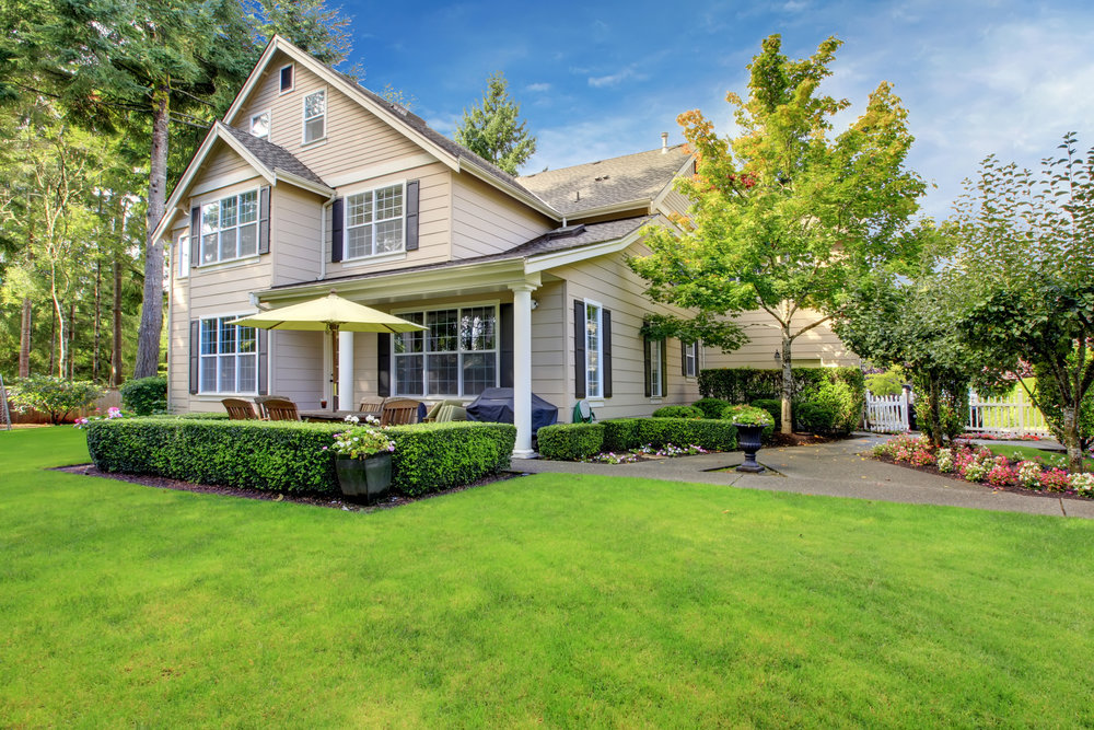 landscaping home value sale